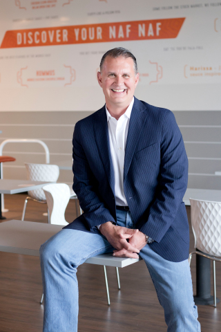 Greg Willman, new Chief Executive Officer of Naf Naf Grill (Photo: Business Wire)