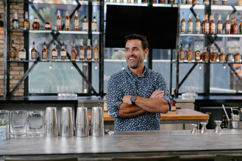 Mixologist Andrew Parish, Porch & Swing (Photo: Business Wire)