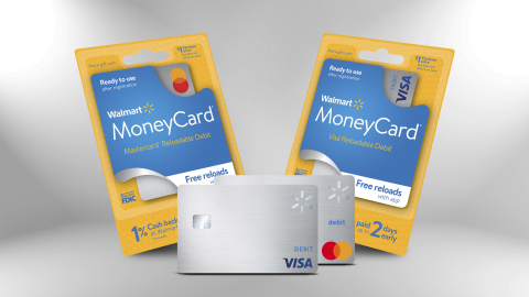 The Walmart MoneyCard, issued by Green Dot Bank, member FDIC (Photo: Business Wire)
