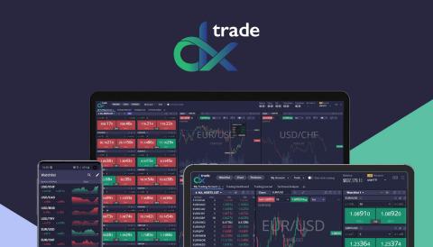 DXtrade, eine SaaS-Tradingplattform für Forex- und CFD-Broker (Graphic: Business Wire)