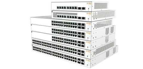 The new Aruba Instant On 1930 Switch Series (Graphic: Business Wire)