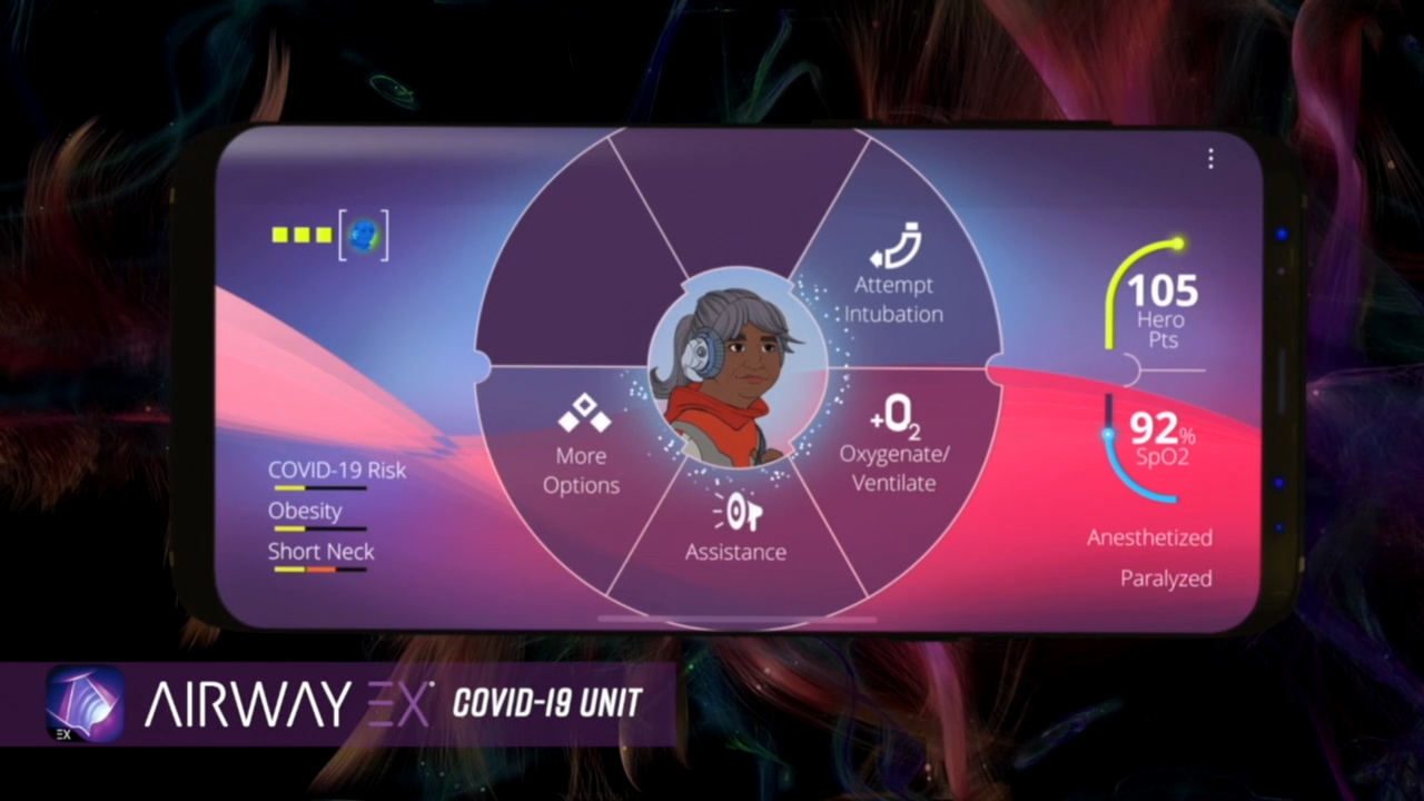 Level Ex has launched COVID-19 levels within its Airway Ex and Pulm Ex mobile games to help healthcare providers navigate challenging COVID-19 patient scenarios and make better emergency decisions.