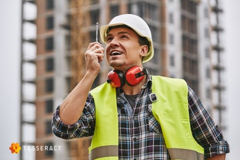 Tesseract PRISM provides a vital link to workers or students when used as location tracking and monitoring solution on job sites, educational institutions, and more. (Photo: Business Wire)