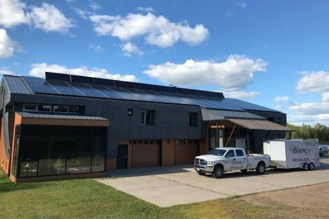 All Energy Solar has gone back to work installing and maintaining solar systems for residential and commercial properties in Minnesota, Wisconsin, Massachusetts, New Hampshire, Iowa and New York. (Photo: Business Wire)