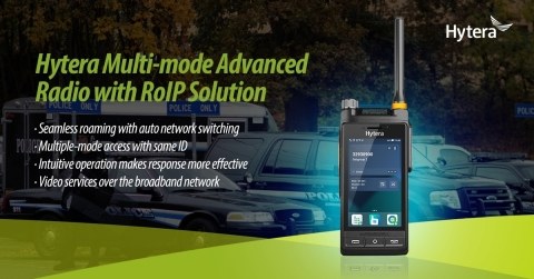 Hytera Multi-mode Advanced Radios with RoIP Solution Enhance Public Safety Response (Graphic: Business Wire)