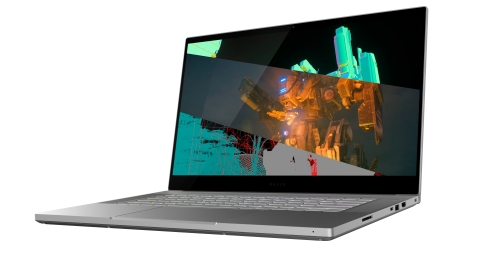 The Blade 15 Studio Edition is equipped with a powerful NVIDIA Quadro RTX 5000 GPU allowing creators more flexibility on what they can create. (Photo: Business Wire)
