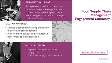 Food Supply Chain Management Engagement Summary