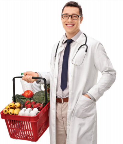 To support the needs of doctors, nurses and other hospital support staff, Aramark is opening on-site 'pop-up' grocery stores at healthcare facilities across the country, to serve as a one-stop shop for employees to grab necessities on their way home. (Photo: Business Wire)