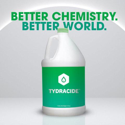 測試顯示,Tydracide™在一分鐘內對COVID-19病毒的殺滅率超過99.999%(照片:美國商業資訊)