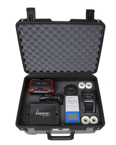 LabWare's Portable Disease Surveillance Lab Kit (Photo: Business Wire)