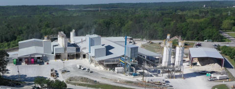 Gordon, GA Facility. Fifth mill and bulk truck silos are in the foreground. (Photo: Business Wire)