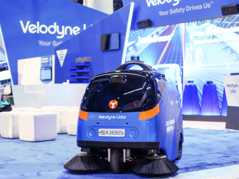 Velodyne Lidar, Inc. and Idriverplus announced an expanded partnership and Idriverplus inclusion into the Automated with Velodyne integrator ecosystem, which helps companies grow their businesses while using Velodyne lidar technology. (Photo: Velodyne Lidar)