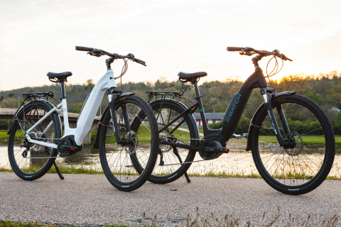 Batch Bicycles released the new Step-Thru Electric Bicycle. The pedal assist e-bike comes in two models, the Step-Thru and Step-Thru Plus, which both feature an accessible frame design making it easier for riders to mount the bike. (Photo: Business Wire)