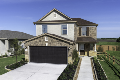 KB Home announces Parklands is now open for sales in Schertz, Texas. (Photo: Business Wire)