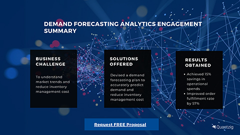 Demand Forecasting Analytics engagement summary