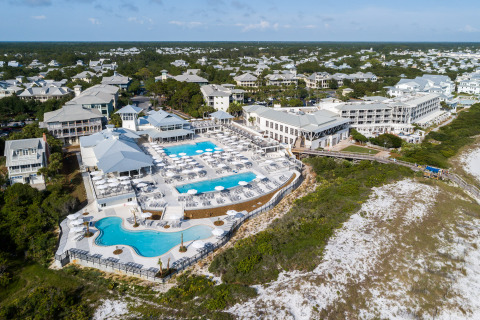 The WaterColor Beach Club and WaterColor Inn (Photo: Business Wire)