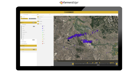 Powered by a sophisticated severe weather monitoring system and Farmers Edge Advanced Weather Network of on-farm stations, insurance professionals and growers can access real-time, historical, and 10-day weather forecasts to identify and track risks. (Photo: Business Wire)