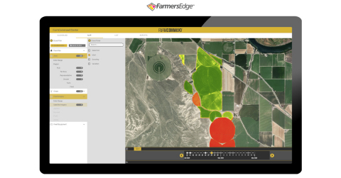Imagery-derived maps of the field are automatically analyzed from before and after the hailstorm to detect and pinpoint any potential damage or changes in the crop. (Photo: Business Wire)