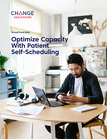 Change Healthcare Virtual Front Desk: Helping providers optimize capacity with patient self-scheduling.