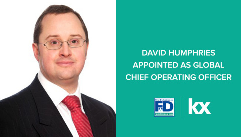 David Humphries appointed as Global Chief Operating Officer (Photo: Business Wire)