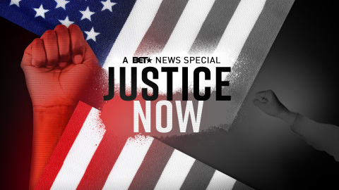 """Justice Now: A BET News Special"" will air Tuesday, June 2, 2020 at 8 PM ET/PT, hosted by Marc Lamont Hill and featuring dialogue with George Floyd's family and leading African American voices in activism, politics and entertainment. (Graphic: Business Wire)"