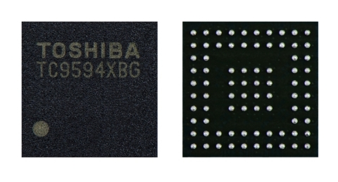 "Toshiba: a new interface bridge IC ""TC9594XBG"" for automotive In-Vehicle Infotainment (IVI) systems. (Photo: Business Wire)"