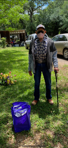 Herminio Alvarez (pictured) was a patient who received a package containing essential personal items. (Photo: Business Wire)
