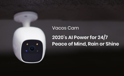 Vacos Cam AI Battery Powered Security Camera (Photo: Business Wire)