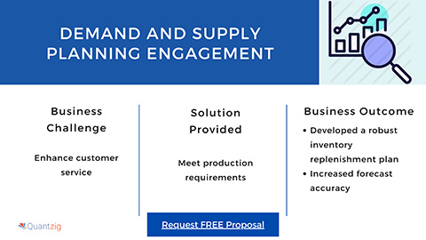 Demand and Supply Planning Engagement