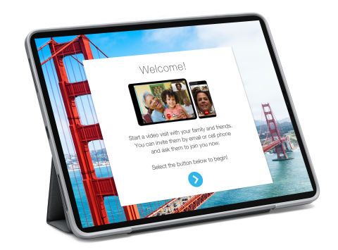 HELLO video visitor solution (Photo: Business Wire)
