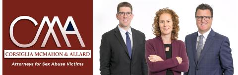 The sexual abuse legal team of Mark Boskovich, Lauren Cerri and Robert Allard. (Photo:  Business Wire)