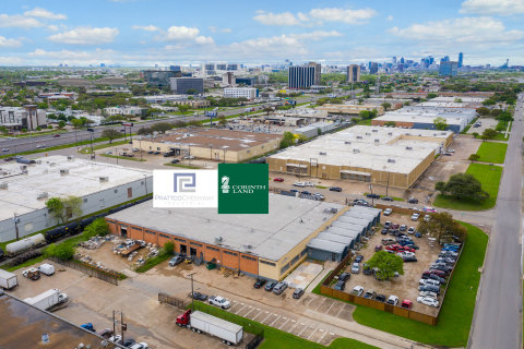 Corinth Land Co. and Prattco Creekway Industrial (PCI) recently added 8400 Ambassador Row in Dallas to their joint venture portfolio. The property includes 42,420 SF on 2.746 acres, allowing for additional development in the popular Brookhollow area. The building is 100 percent leased with two tenants, Lawns of Dallas and Stone Ave. (Photo: Troy Grant, Epic Foto Group)