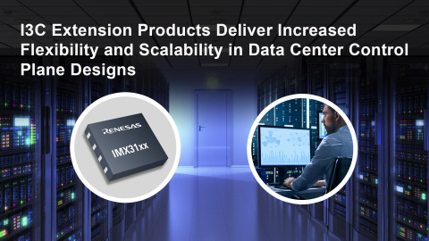 I3C Extension Products Deliver Increased Flexibility and Scalability in Data Center Control Plane Designs (Photo: Business Wire)