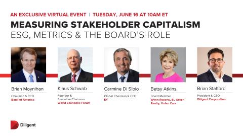和全球商业领袖一起,探讨ESG报告的未来。(照片:美国商业资讯)