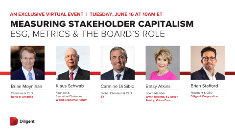 Join a panel of global business leaders as the discuss what's next for ESG reporting. (Photo: Business Wire)