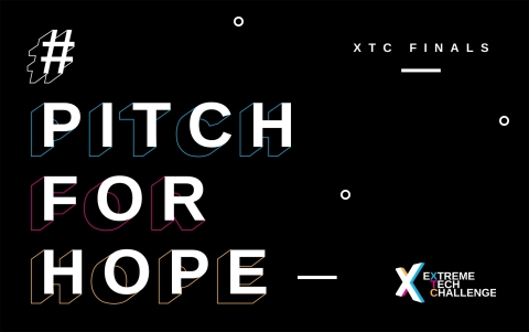 Inspired by the United Nations 17 Sustainable Development Goals, XTC supports and showcases innovators harnessing the power of technology to address the greatest challenges facing humanity and our planet. #PitchforHope #XTC2020 (Graphic: Business Wire)