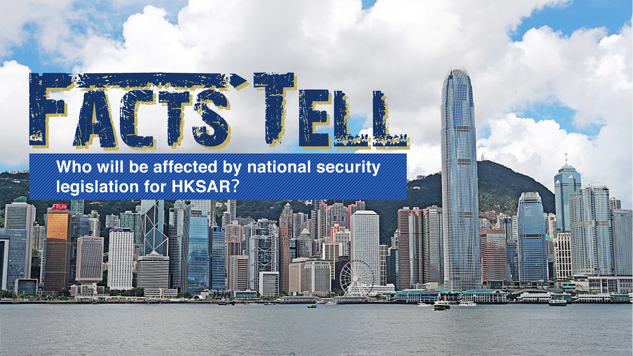 Who will be affected by national security legislation of HKSAR?