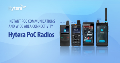 Hytera PoC Radios (Graphique: Business Wire)