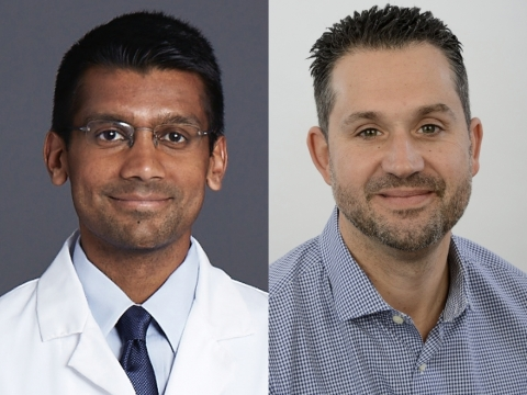 Dave Chokshi, MD, MSc, FACP (left) and Adam Gail join RubiconMD's leadership team. (Photo: Business Wire)