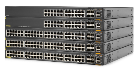 The Aruba CX 6200 Switch Series brings built-in analytics and automation capabilities to every network edge where user and device connectivity occurs. (Photo: Business Wire)