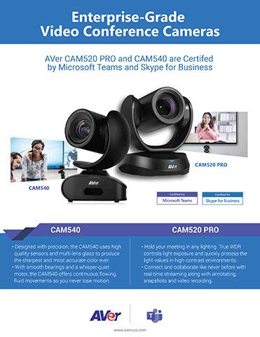 Microsoft Certified CAM540 & CAM520 PRO