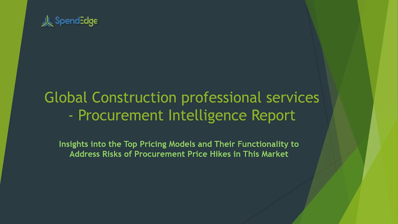 SpendEdge has announced the release of its Global Contract Compliance Services Market Procurement Intelligence Report