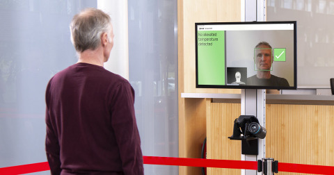 New FLIR Screen-EST software designed for use with FLIR thermal imaging cameras used for skin temperature screening offers faster solution for high traffic areas. (Photo: Business Wire)