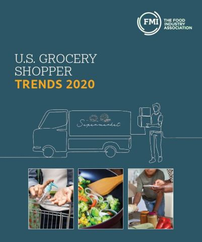 The 2020 U.S. Grocery Shopper Trends report examines grocery shopping habits before COVID-19, during the pandemic and offers a glimpse of what might come next for the food industry. (Photo: Business Wire)