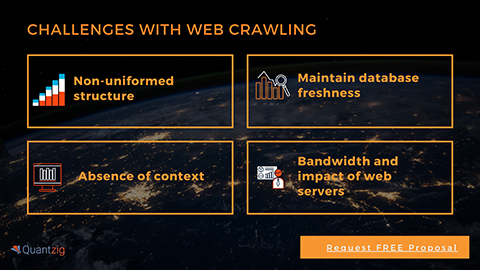 Challenges with Web Crawling