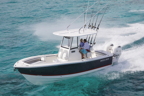 Regulator Marine has selected Fusion to be its premier entertainment supplier to outfit its full line of offshore sportfishing center console boats beginning model year 2021. Both Garmin electronics, and stereos, speakers and amplifiers from Fusion, a Garmin brand, will now be standard equipment on all Regulator boats ranging from 23 to 41 feet. (Photo: Business Wire)