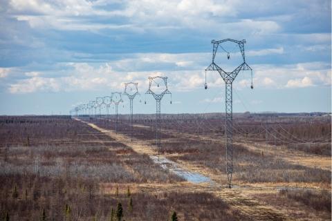 GNTL near Baudette, MN (Photo: Minnesota Power)
