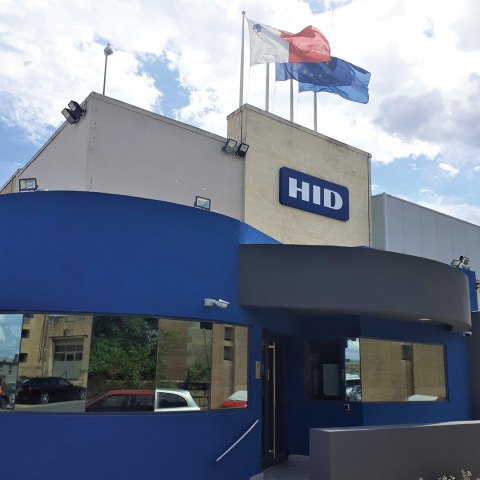 HID Malta manufacturing site successfully obtained three International Standards Organization (ISO) certifications. (Photo: Business Wire)