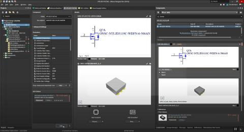 Altium Designer users can now get actionable lifecycle status updates during their PCB design process (Graphic: Altium LLC)