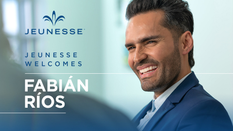 Famed telenovela star Fabián Ríos has joined global direct selling company Jeunesse. (Photo: Business Wire)